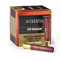 "20 rounds Federal Premium .410 3"" 4B Shot Handgun Shells"
