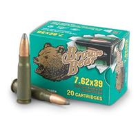 Brown Bear, 7.62x39, SP, 125 Grain, 240 Rounds