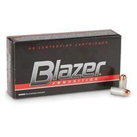 CCI Blazer Aluminum Case, .380 ACP, FMJ, 95 Grain, 50 Rounds