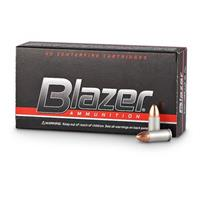 CCI Blazer Aluminum Case, .40 S&W, FMJ, 165 Grain, 50 Rounds