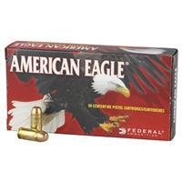 Federal American Eagle, .380 ACP, FMJ, 95 Grain, 50 Rounds