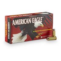 Federal American Eagle Pistol, 10mm, FMJ, 180 Grain, 50 Rounds