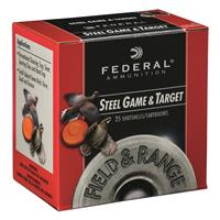 "Federal Premium Field and Range Steel, .410 Gauge, 3"", 3/8 oz., Shot Shells, 250 Rounds"