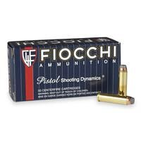 Fiocchi Shooting Dynamics, .357 Magnum, SJSP, 125 Grain, 50 Rounds