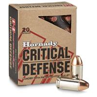 Hornady Critical Defense, .45 ACP, FTX, 185 Grain, 20 Rounds