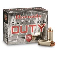 Hornady Critical Duty, 10mm, Flexlock, 175 Grain, 20 Rounds