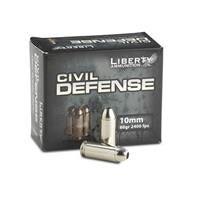 Liberty Civil Defense, 10mm, HP, 60 Grain, 20 Rounds