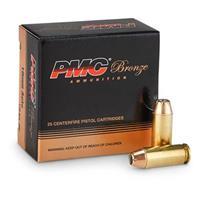 PMC Bronze, 10mm, JHP, 170 Grain, 25 Rounds