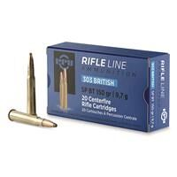 PPU, .303 British, SP-BT, 150 Grain, 20 Rounds