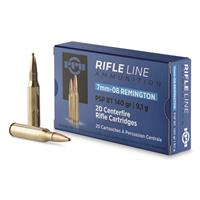 PPU, 7mm-08 Remington, PSP BT, 140 Grain, 20 Rounds
