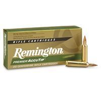 Remington Accutip, .22-250 Remington, AT-V-BT, 50 Grain, 20 Rounds