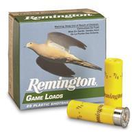 "Remington, Lead Game Loads, 20 Gauge, 2 3/4"" 7/8 ozs., 25 Rounds"
