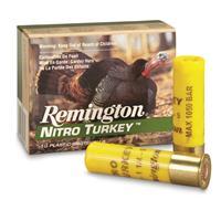 "Remington Nitro Turkey, 20 Gauge, Magnum Buffered Turkey Load, 3"" Shell, 10 Rounds"