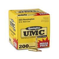 Remington UMC, .223 Remington, MC, 55 Grain, 200 Rounds