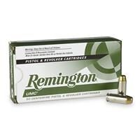Remington UMC Handgun, 10mm Auto, MC, 180 Grain, 50 Rounds