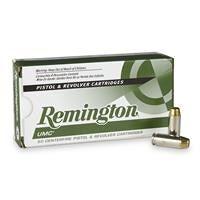 Remington UMC Handgun, 10mm Auto, MC, 180 Grain, 50 Rounds