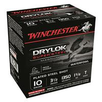 "Winchester DryLok Super Steel Magnum, 10 Gauge, 3 1/2"" Shot Shells, 1 5/8 oz., 250 Rounds"