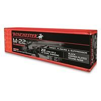 Winchester M-22 Subsonic, .22LR, Round Nose, 45 Grain, 100 Rounds