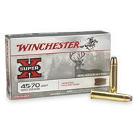 Winchester Super-X Rifle .45-70 Govt., 300 Grain, JHP, 20 rounds