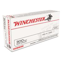 Winchesterm White Box, .300 AAC Blackout, Open Tip, 200 Grain, 20 Rounds