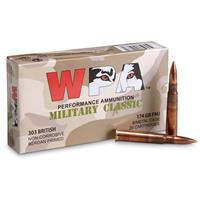 Wolf WPA Military Classic, .303 British, FMJ, 174 Grain, 140 Rounds