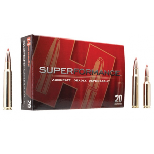 Hornady Superformance Rifle Ammunition .35 Whelen 200 gr SP 2910 fps - 20/box