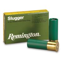 "Remington, Slugger, 16 Gauge, 2 3/4"" Shell, 4/5 oz. Slug, 5 Rounds"