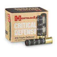 "Hornady Triple Defense, .410 Bore, 2 1/2"", FTX Slug, 20 Rounds"