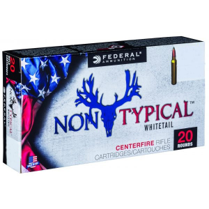 Federal Non-Typical Whitetail Rifle Ammunition .270 Win 150 gr SP 20/ct
