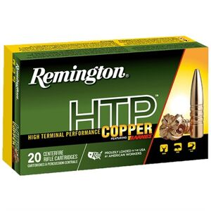 Remington Htp Copper Ammo 270 Winchester 130gr Barnes Tsx-Hp - 270 Winchester 130gr Tsx Hollow Point 20/Box