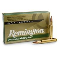 Remington Premier Accutip, .30-06 Springfield, AccuTip-BT, 165 Grain, 20 Rounds