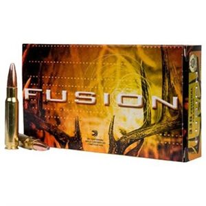 Federal Fusion Ammo 243 Winchester 95gr Bonded Bt - 243 Winchester 95gr Bonded Bt 20/Box