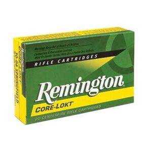 Remington Core-Lokt Ammo 243 Winchester 100gr Pointed Sp - 243 Winchester 100gr Pointed Soft Point 20/Box