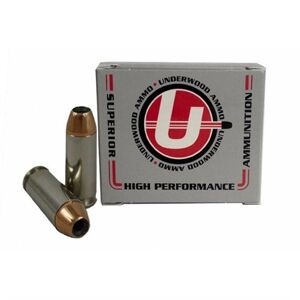 Underwood Ammo 10mm Auto 135gr Jacketed Hollow Point - 10mm Auto 135gr Jacketed Hollow Point 20/Box