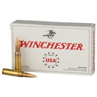 Winchester White Box, .308 (7.62x51mm), FMJ, 147 Grain, 100 Rounds