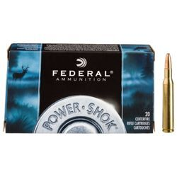 Federal Premium Power-Shok Centerfire Rifle Ammo - .30-06 Springfield - 180 Grain