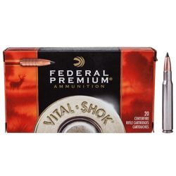 Federal Premium Vital Shok Trophy Copper Rifle Ammo - 150 Grain - 30-30 Winchester - 20 rounds