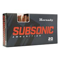 Hornady Subsonic, .30-30 Winchester, Sub-X, 175 Grain, 20 Rounds