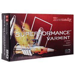 Hornady Superformance Varmint Centerfire Rifle Ammo - .243 Winchester - 75 Grain