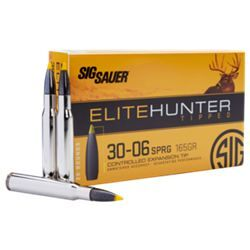 Sig Sauer Elite Hunter Tipped Centerfire Rifle Ammo - .30-06 Springfield