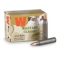 Wolf WPA Military Classic, .223 Remington, HP, 62 Grain, 100 Rounds
