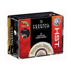 Federal Premium Personal Defense Ammo 38 Special 130gr Hst - 38 Special +p 130gr Hst Jhp 20/Box