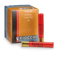 "Fiocchi High-Velocity, .410 Bore, 3"" Shells, 11/16 oz., 25 Rounds"