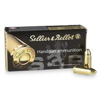 Sellier & Bellot, 9mm, FMJ, 124 Grain, 500 Rounds