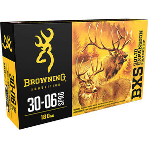 Browning BXS Solid Expansion Ammunition, .30-06 Springfield