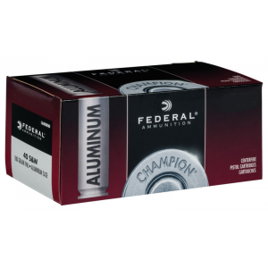 Federal Champion Aluminum Handgun Ammuntion .40 S&W 180gr FMJ 50/ct