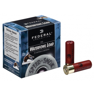 "Federal Speed-Shok Waterfowl Steel 12 ga 3 1/2"" 1 3/8 oz #BB - 25/box"