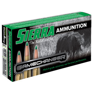 Sierra GameChanger Ammunition, .30-06 Springfield, 165-Grain