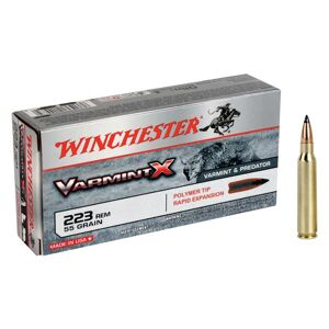 Winchester Varmint X Centerfire Rifle Ammo - .22-250 Remington - 55 Grain