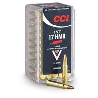 CCI, .17 HMR, HP, 17 Grain, 50 Rounds